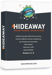 HideAway VPN Gratis - 1 anno 1 dispositivo