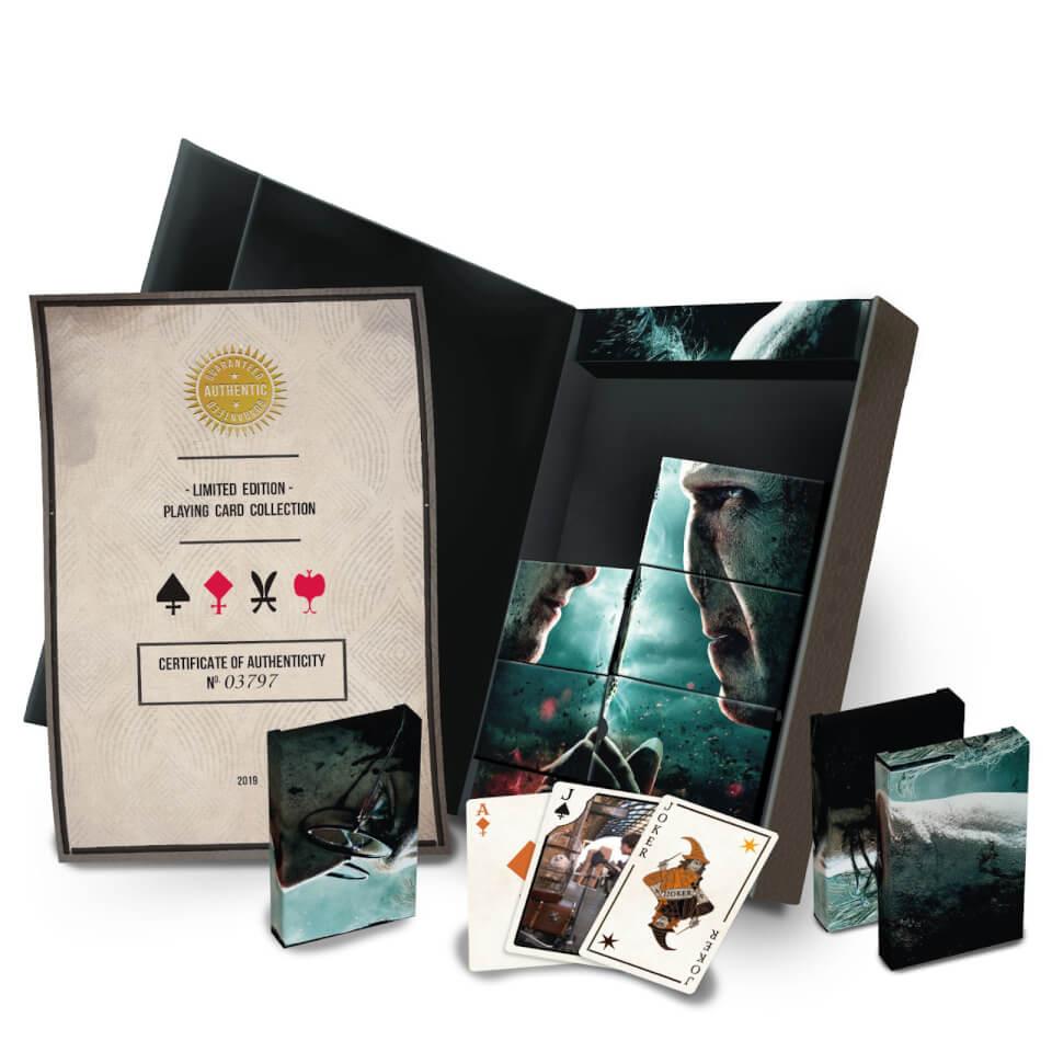 Set Carte da Gioco Edizione Limitata Harry Potter - Cartamundi