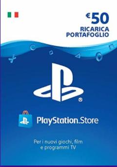 PS Store 50 Euro di Credito a soli 37.5€