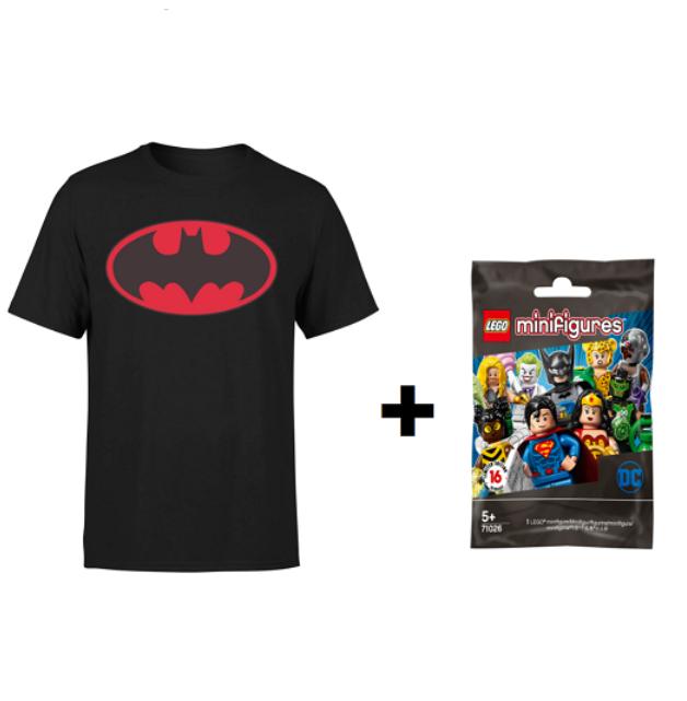 T-Shirt DC Comics +1 Mini Figure Lego 12.9€