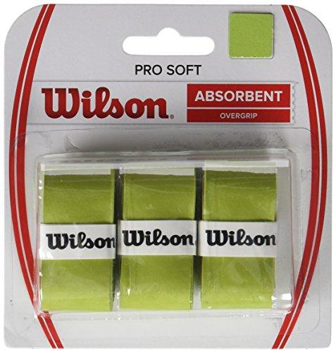 Wilson Grip, Impugnatura Pro Soft Overgrip, Unisex, 3 Unità