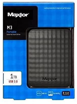 Maxtor Seagate M101TCBM Game Drive M3 HDD Esterno 2,5'' 1TB USB 3.0 Nero