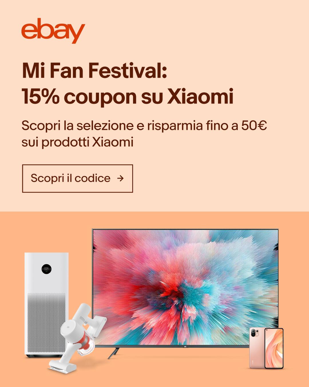 15% di sconto: Mi Fan Festival