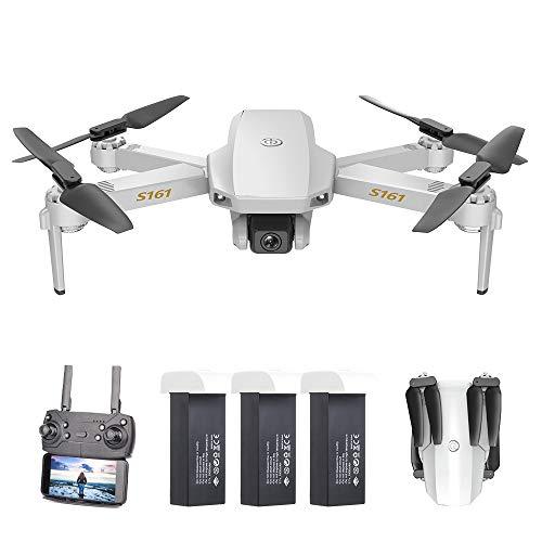 Drone Goolsky CSJ S161 Mini PRO con Fotocamera 4K + 3 batterie