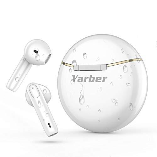 Auricolari Bluetooth con Custodia di Ricarica Portatile, Riduzione del Rumore, Touch Control