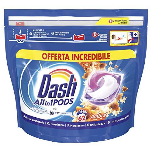 Dash Pods Allin1 62 Lavaggi [Acquisto Minimo 2 PZ]