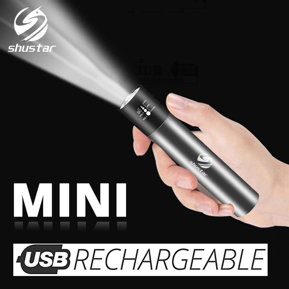 Torcia LED 500 Lumen - USB 2.5€