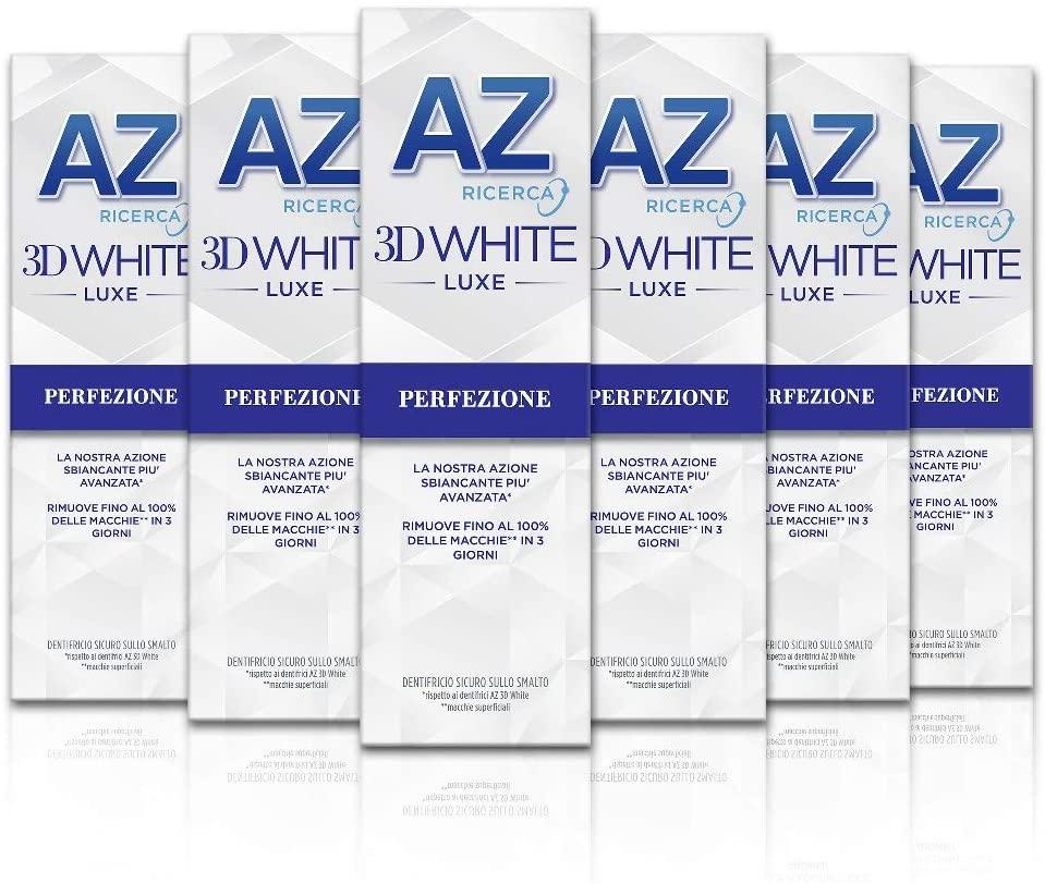 AZ 3D White 6x75ml Dentifricio 6.8€