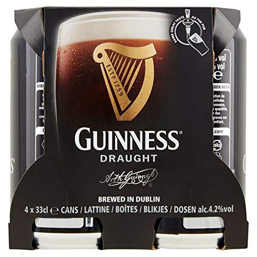 Guinness Birra Draught in Lattina -4x 330 ml