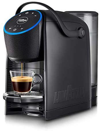 Lavazza A Modo Mio Voicy - Macchina Caffè Espresso con Alexa Integrata e Controllo Smart Home