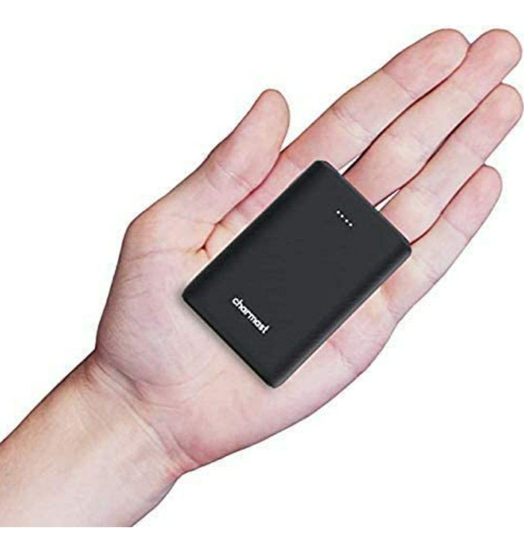 Powerbank Mini 10400mAh,USB C 18W PD e QC 3.0