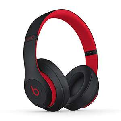 Beats Studio3 Wireless Circumauricular Headphone - Beats Decade Collection - Black-Red Challenge