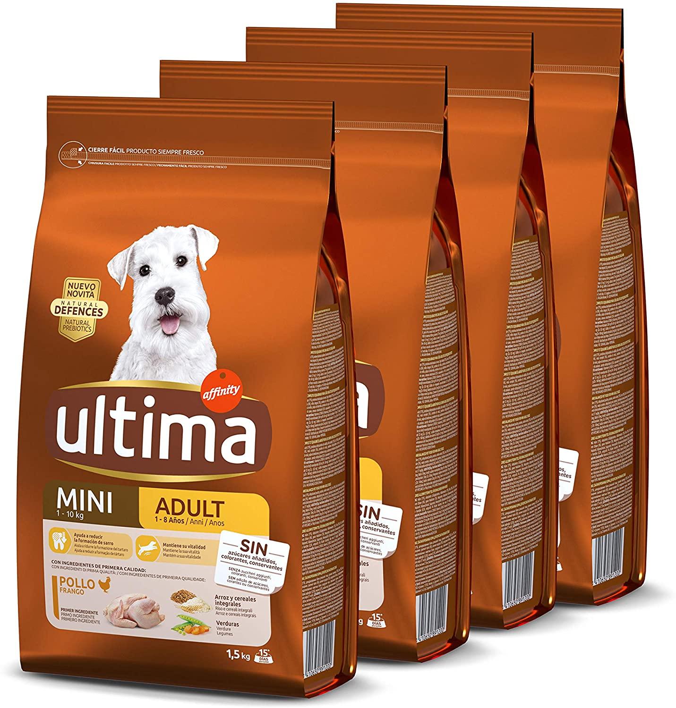 Ultima Cani Mini 4 X 1.5kg 17.1€