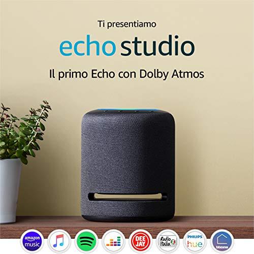 Preordine Echo Studio - Altoparlante intelligente con audio Hi-Fi e Alexa