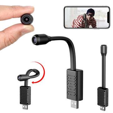 Mini telecamera da sorveglianza 1080P Wi-Fi