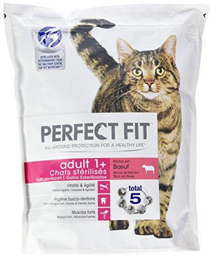 Perfect Fit Cibo secco per gatti STERILIZZATI, adulti, 4 sacchetti da 1.4 kg - (5,6kg)