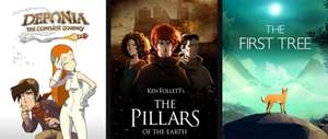 Epic Games - Giochi PC Gratis : Ken Follett's The Pillars of The Earth , Deponia: The Complete Journey e The First Tree