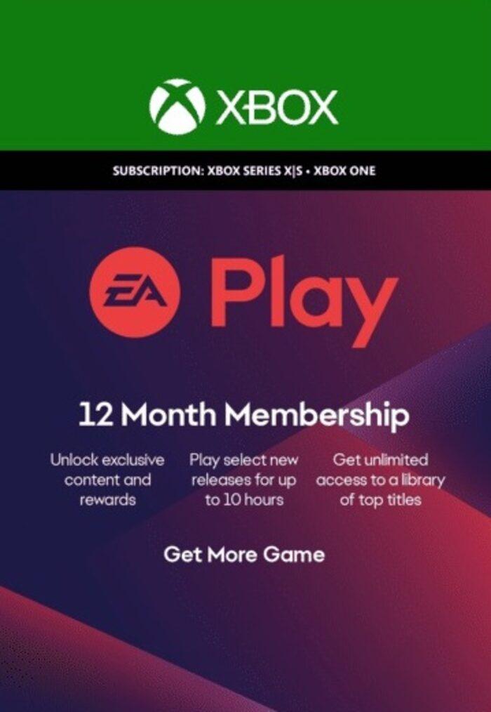 Key EA Play 12 mesi Xbox Live