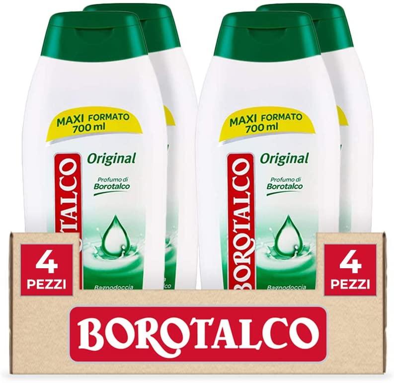Borotalco 4X700ml Bagnoschiuma 7.1€