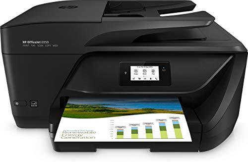 HP Stampante Multifunzione a Getto di Inchiostro, Stampa, Scansiona, Fotocopia, Fax, Wifi
