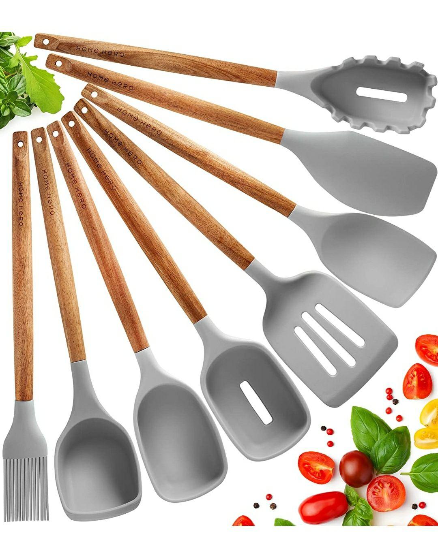 Utensili Cucina Silicone Set Mestoli Cucina Silicone - 8 Pezzi
