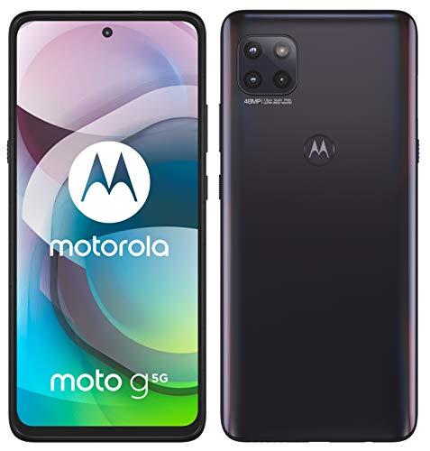 "Motorola moto g 5G (tripla cam 48 MP, batteria 5000 mAH, 5G, 6/128 GB, Display 6.7"" Max Vision Full HD+, Dual SIM, Android 10)"