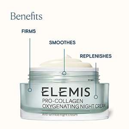 Elemis pro collagen Crema notte Antirughe