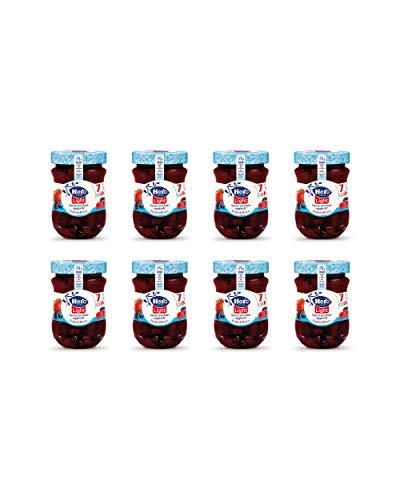 8 vasetti da 280 gr Hero Light Confettura di Frutti di Bosco light