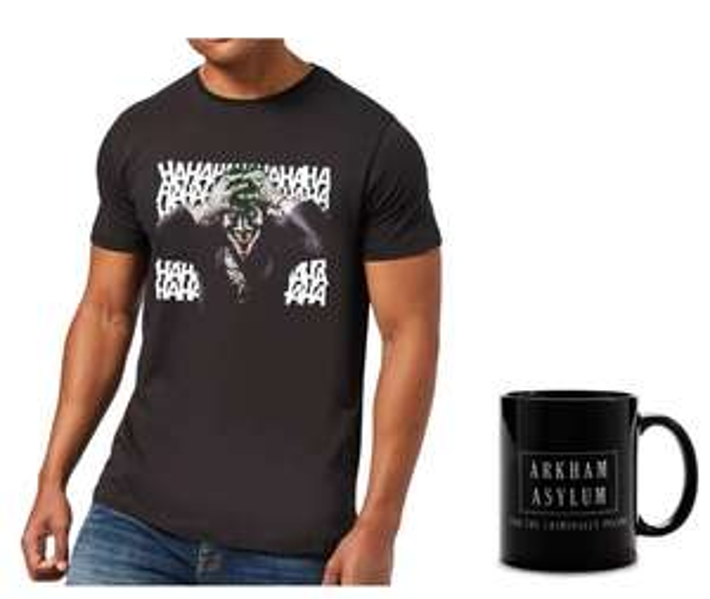 Bundle Joker T-Shirt + Tazza 12.9€
