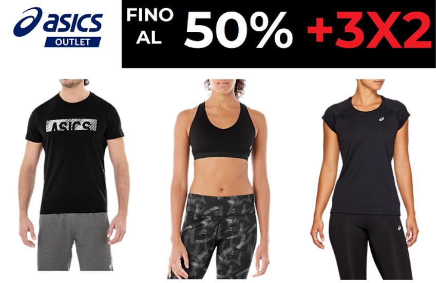 Asics - Fino al 50% + 3x2