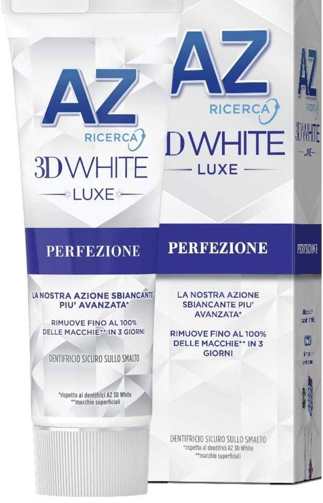 AZ Dentifricio 3D White Luxe, Perfezione 75 ml