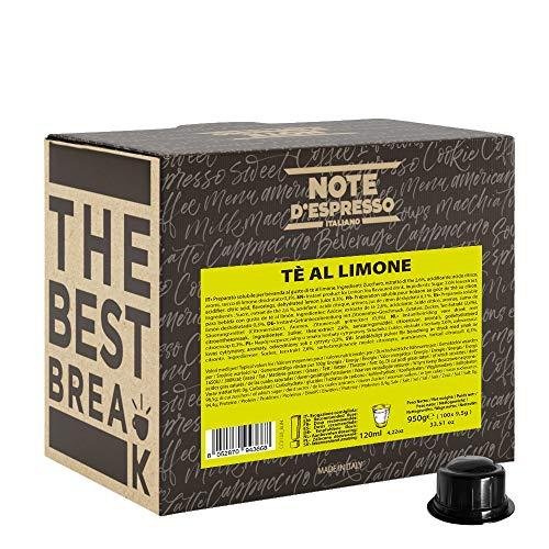 Note D'Espresso, Tè Al Limone - Confezione da 100 x 9.5 G