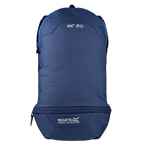 Regatta - ZainO unisex Packaway in denim scuro/blu nautico, taglia unica