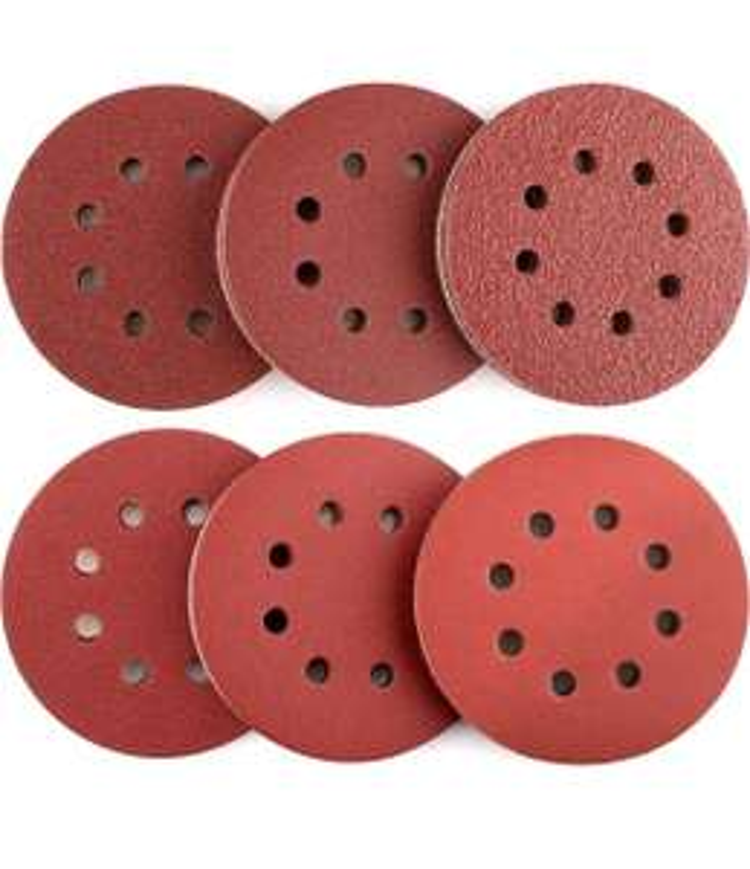 Dischi Abrasivi 60 Pezzi Tacklife ASD03C Carte Abrasive per Levigatrice 10 x 40/60/80/120/180/240 Graniglie