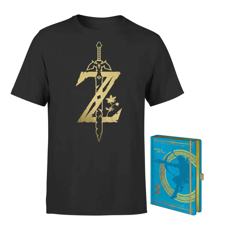 Bundle Zelda T-Shirt + Taccuino 12.9€