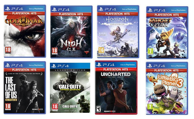 Selezione Giochi PS4 9.99€ da Unieuro
