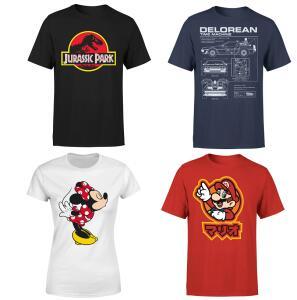 2 x T-Shirt Zavvi a 19,99