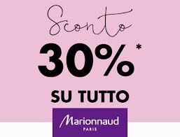 Marionnaud: Sconto del 30% su tutto