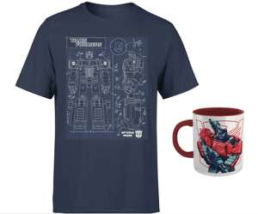 T-Shirt + Tazza Transformers 12.9€