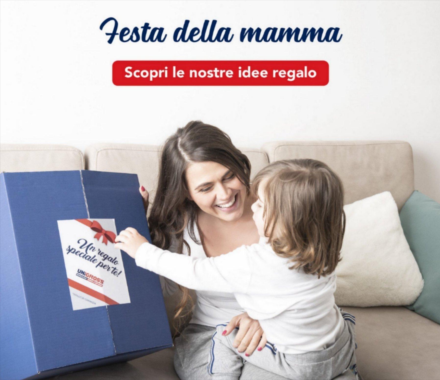 Promo FESTA della Mamma su UNIGROSS