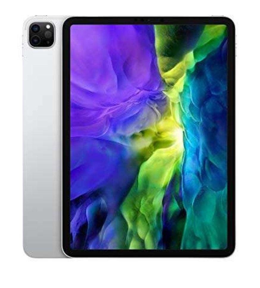 """Apple iPad Pro (11 """", seconda generazione, Wi-Fi, 128 GB) - Argento (2020)"""
