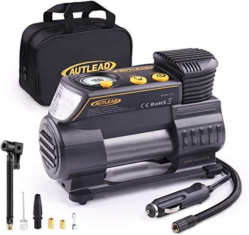 Compressore Portatile per Auto - 40L/Min 12V