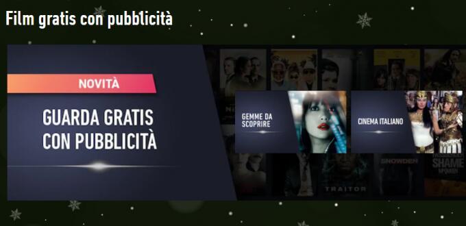 CHILI Film gratis con pubblicità