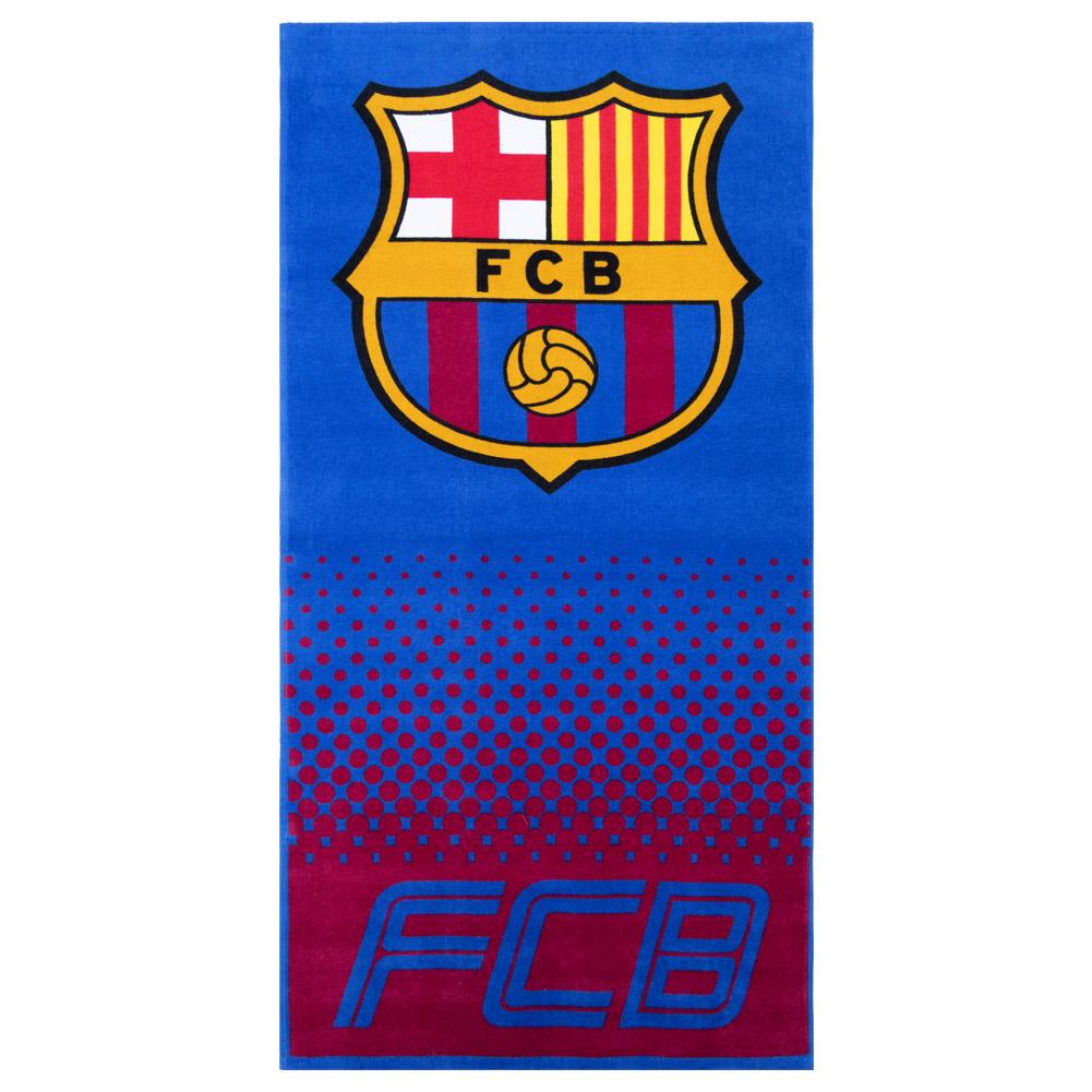 Fc Barcelona Asciugamano da Mare 70x140
