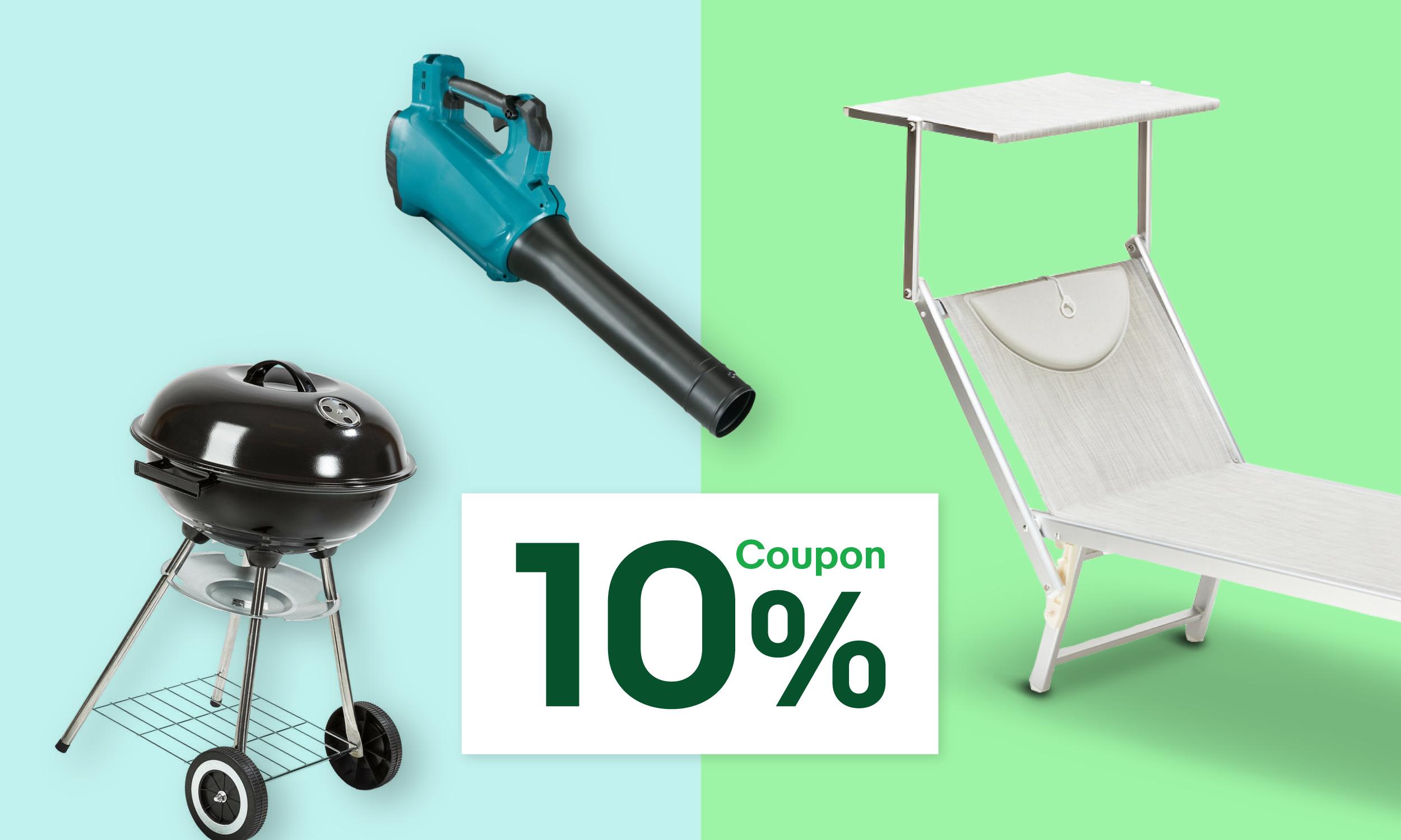 eBay: Coupon 10% per il tuo giardino