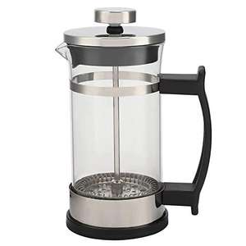 Caffettiera in Vetro Resistente al Freddo e al Caldo antiruggine, per Foglie di tè in Polvere