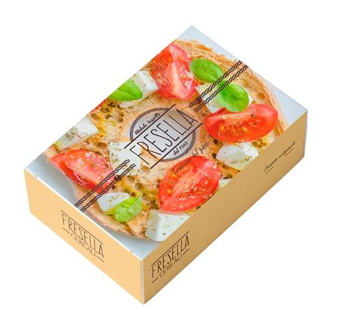 Freselle CEREALI Napoletane 300 Grammi Croccanti Circa 8 Pezzi Confezionati Ideali Per Cene Estive Particolari Dieta Mediterranea