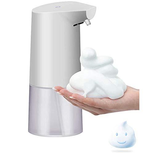 Dispenser Sapone Automatico 350ML Distributore di Sapone Schiumogeno Erogatore di Sapone Touchless con Sensore di Infrarossi