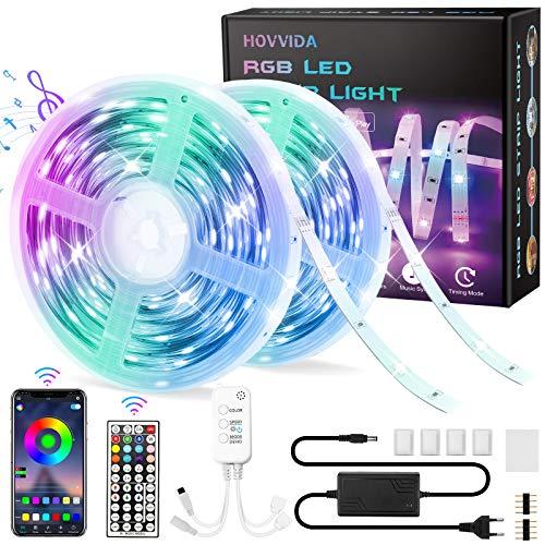 20M Striscia LED RGB 5050 Musicale Controllato da APP