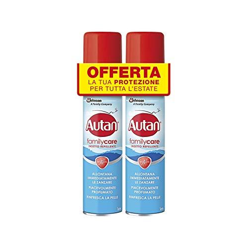 2x Autan Family Care Spray 100ml